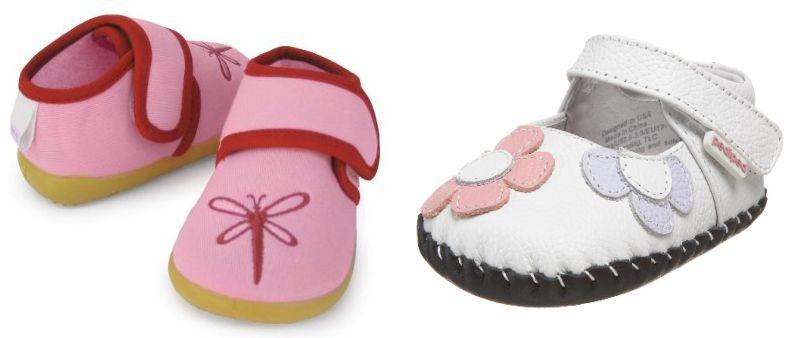 choosing baby shoes